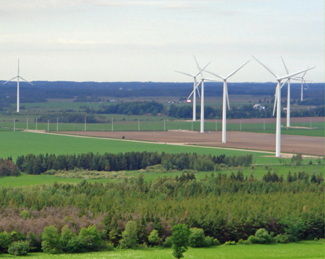 Day 47 Of 365 Shelburne Wind Turbine Tour 365 Things To Do In Orangeville On