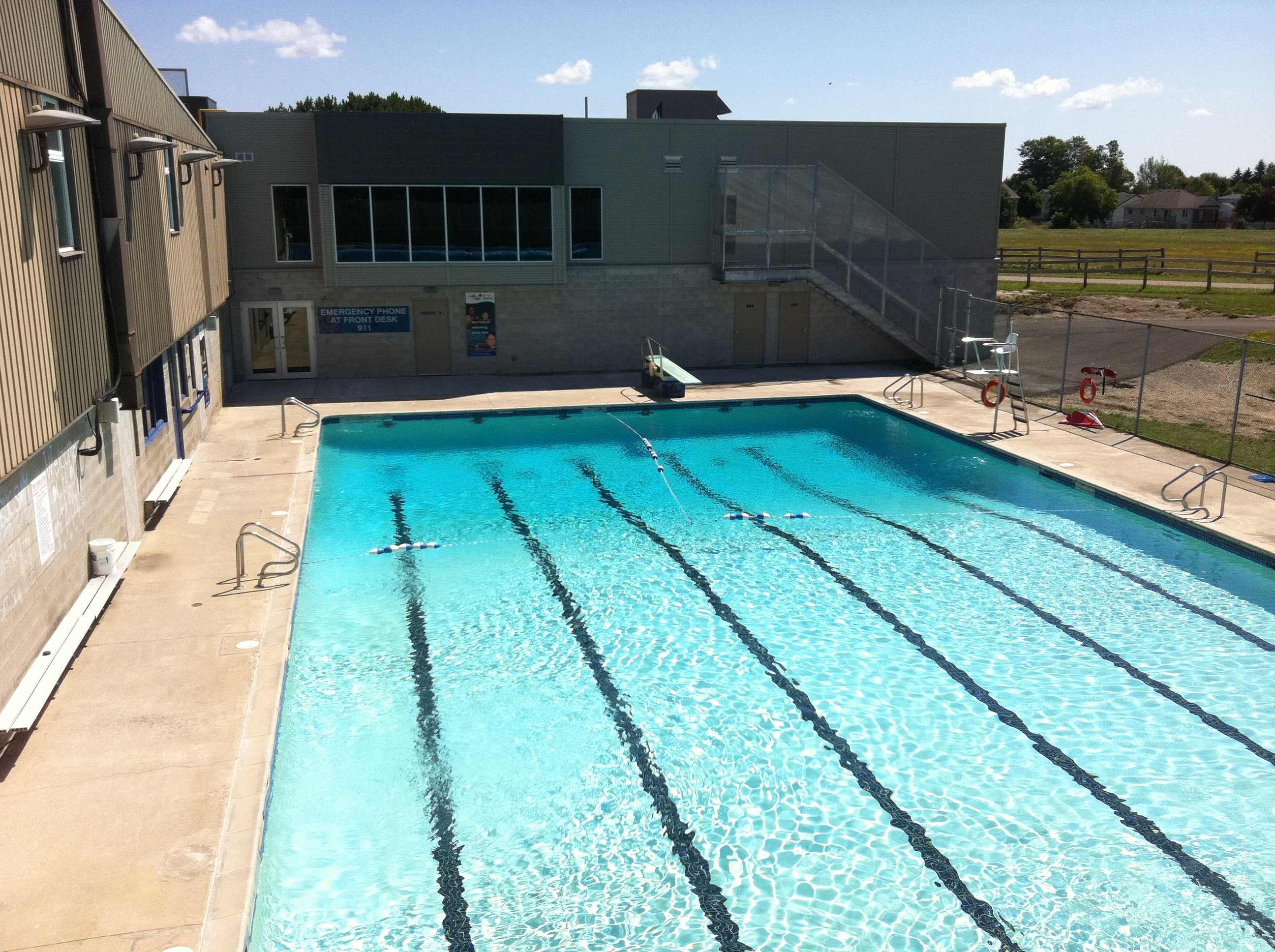 day 81 of 365 center dufferin recreation complex pool 365 things to do in orangeville on