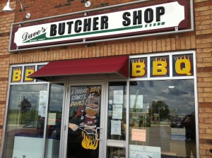 Day 92 of 365 - Dave's Butcher Shop