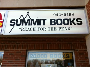Day 187 of 365 - Summit Books