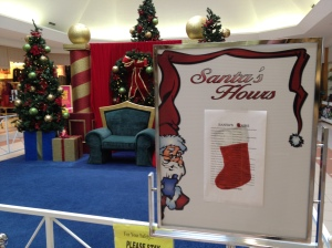 Day 212 of 365 - Orangeville Mall: Visit with Santa