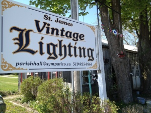 Day 359 of 365 - St James Vintage Lighting