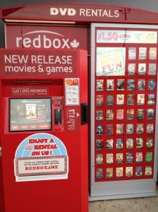 Red Box in Orangeville