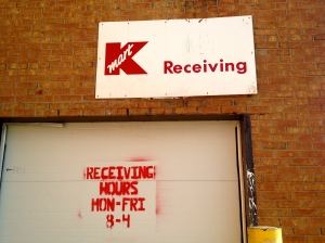 kmart back door