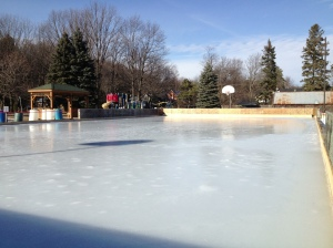 Outdoor rink in Mono