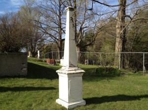 Orange Lawrences grave