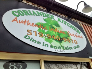 Indian Food Comes To Orangeville - Coriander Kitchen