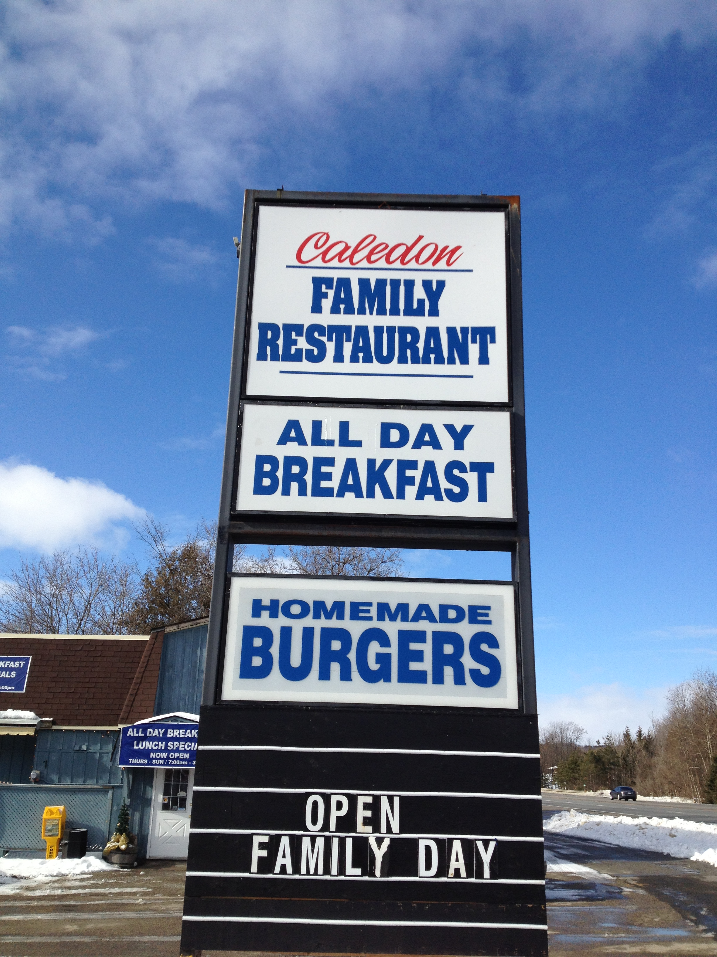 Flapjacks Family Restaurant now Caledon Family Restaurant – 365 ...