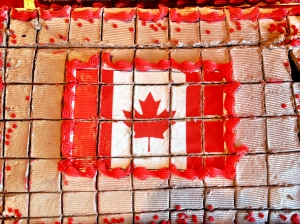 Canada Day Birthday Cake