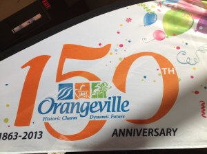 It's Orangeville's 150th Birthday Party