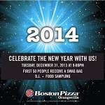 Boston Pizza 2014