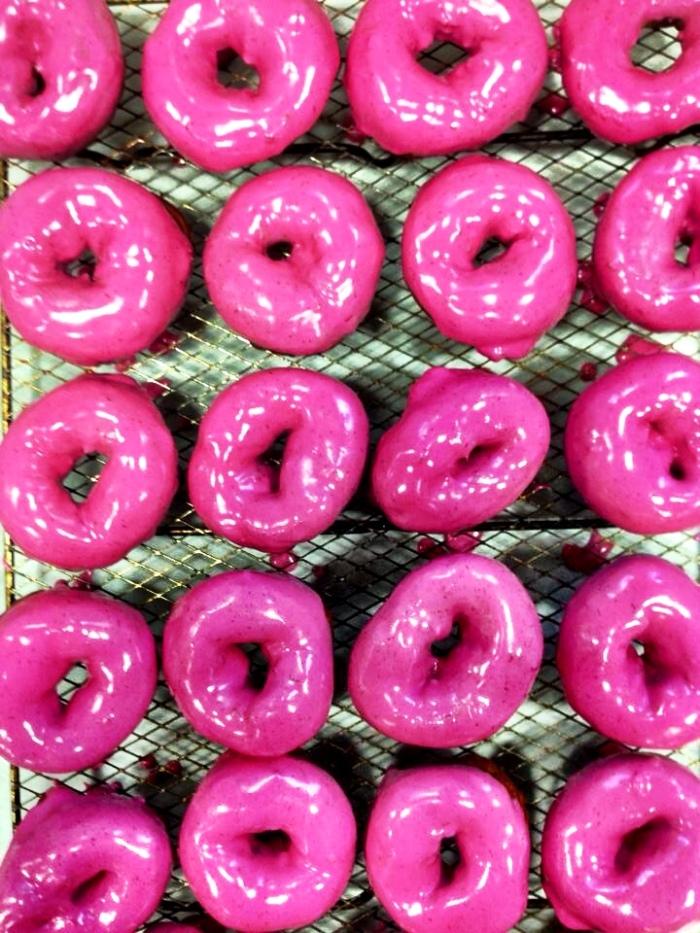 Beet Doughnut